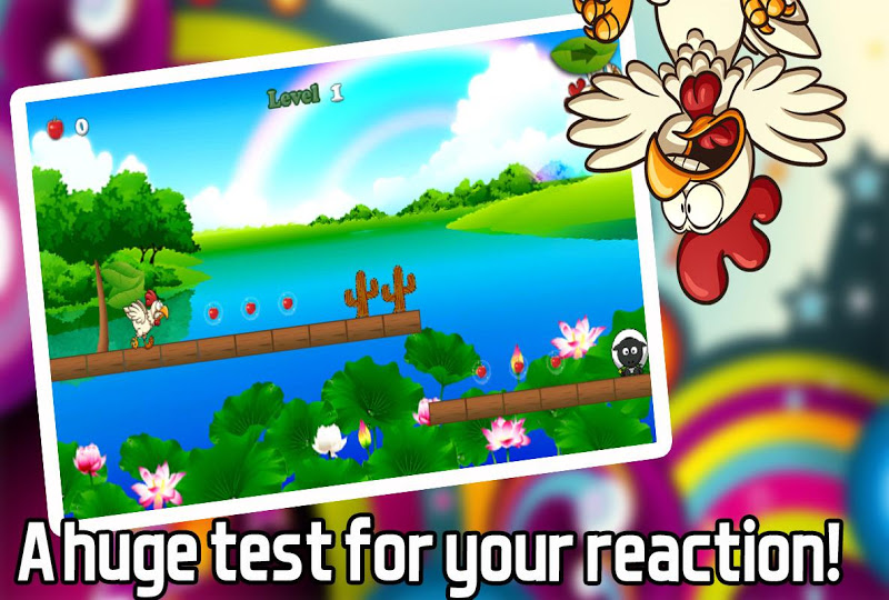 Скриншот Crazy Chicken Escape