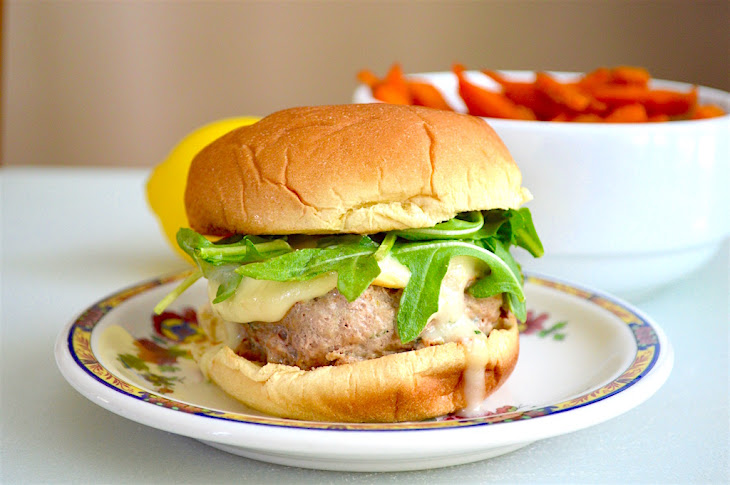 Basil Lemon Turkey Burgers Recipe