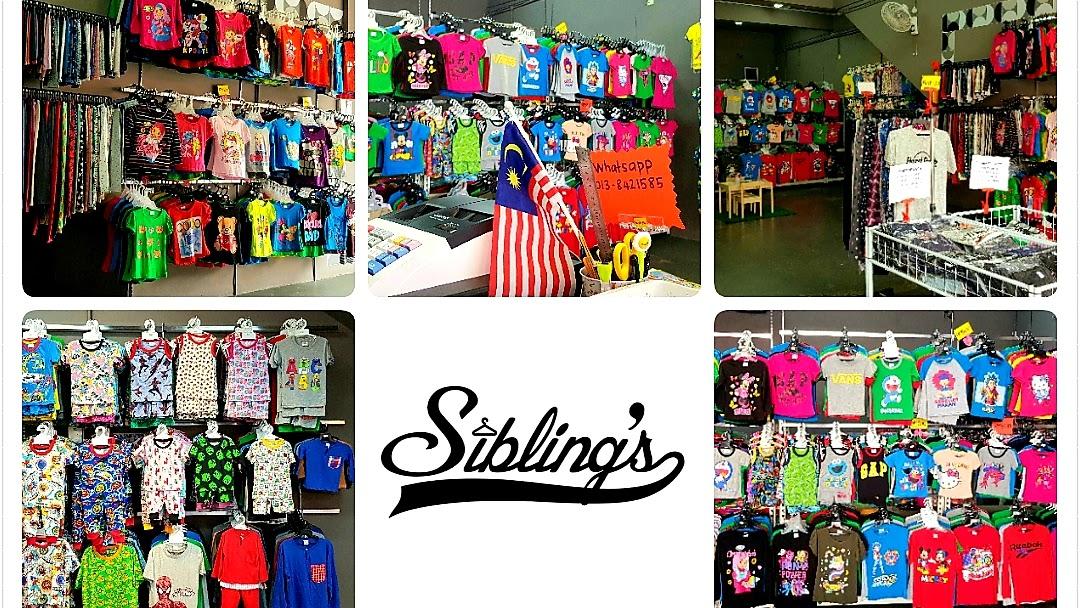Pemborong Pakaian Kanak Kanak Kedah Sibling S Little Shop Clothing Wholesaler In Bandar Darulaman Jaya