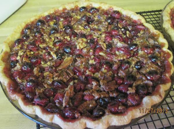 Cranberry Pecan Pie Recipe