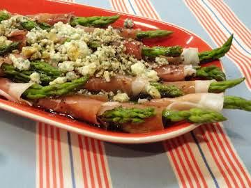 Wrapped Asparagus