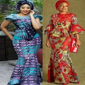 Ankara Skirt & Blouse Designs