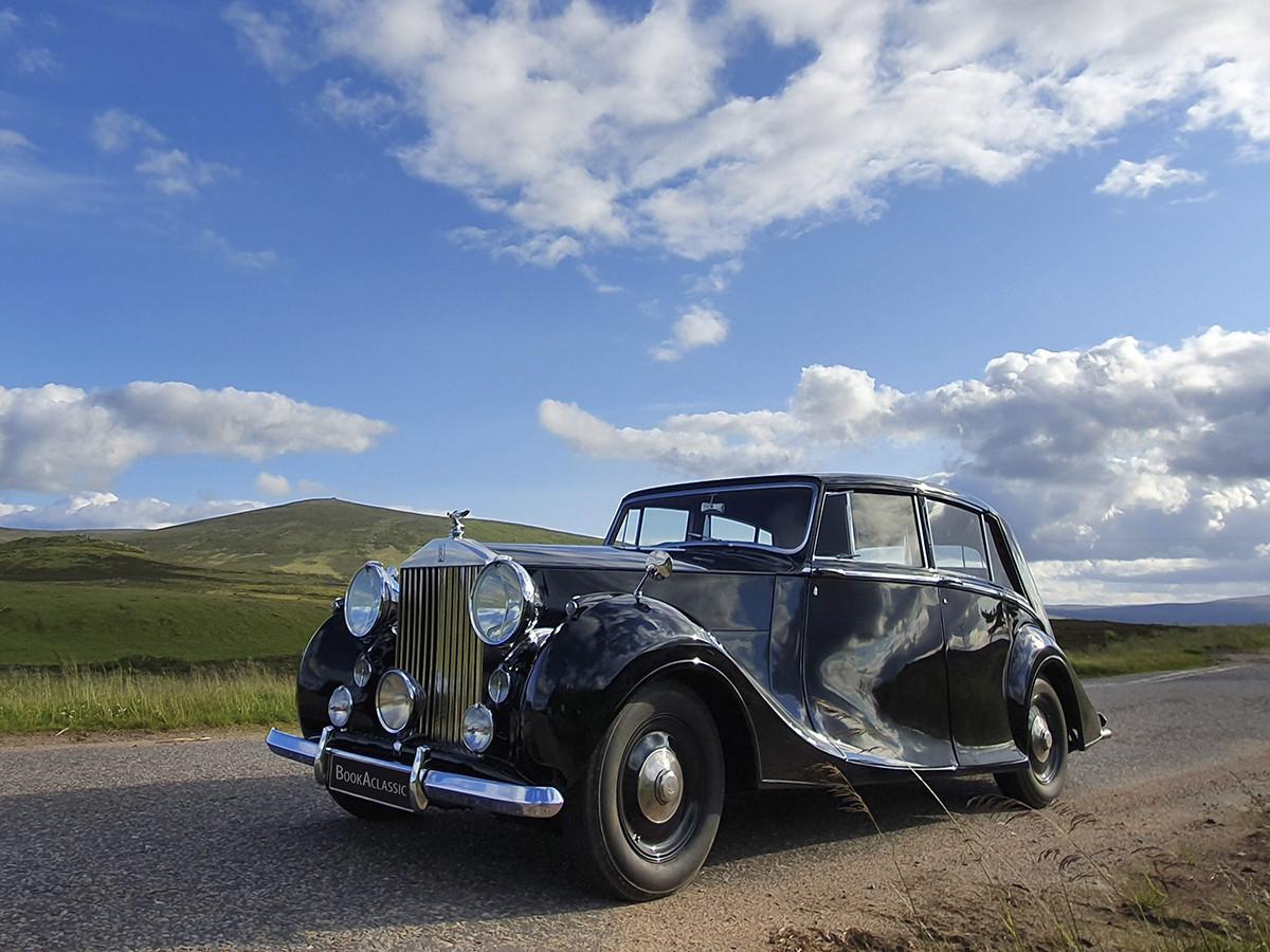 Rolls-royce Silver Wraith Hire Aberdeen