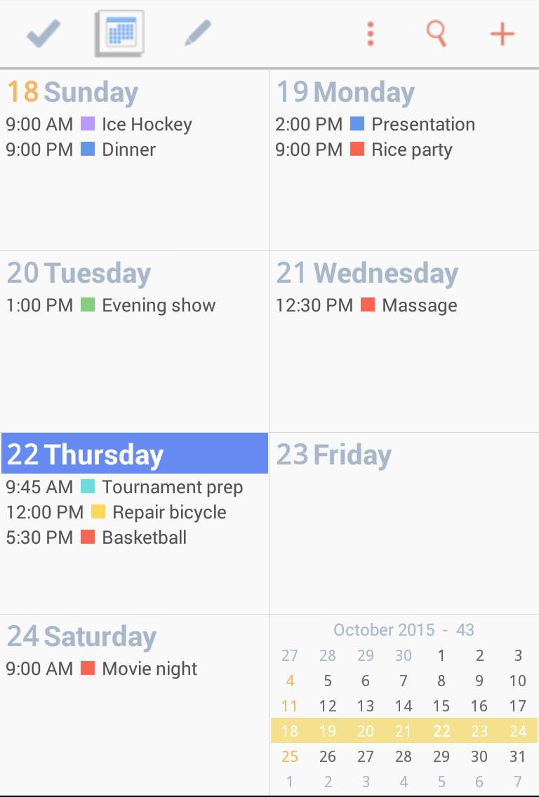 To-Do Calendar Planner Screenshot 5