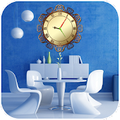Interior Clock Live Wallpaper