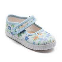 Step2wo Greta Flower - Canvas Shoe BAR SHOE