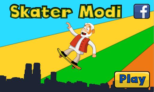 Indian Skater Modi game