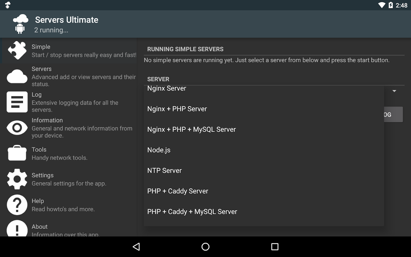 servers ultimate android apps on google play