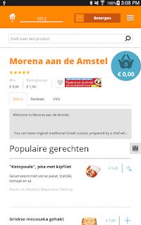 Thuisbezorgd.nl - Order food screenshot 10