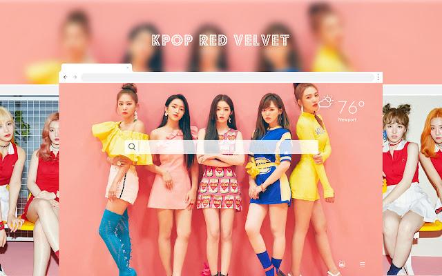 Kpop Red Velvet HD Wallpapers New Tab