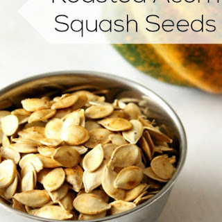 Roasted Acorn Squash Seeds.