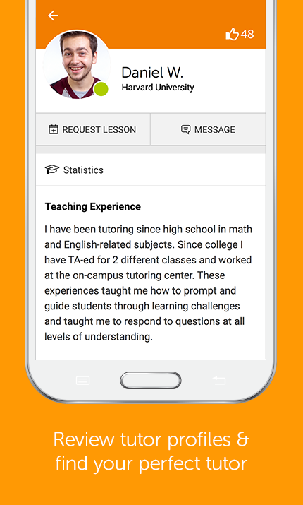 Chegg Tutors: Online Tutoring- screenshot