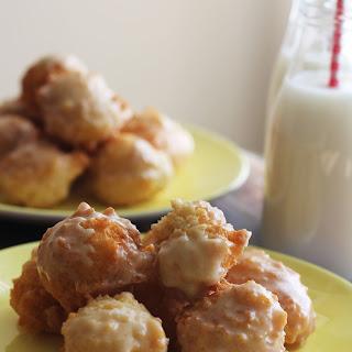 Maple Glazed Donut Holes.