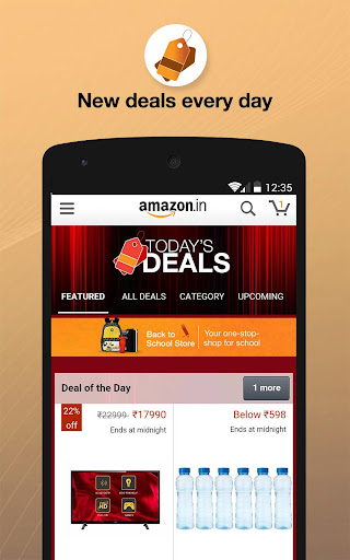 Amazon India Online Shopping app (apk) free download for Android/PC/Windows screenshot