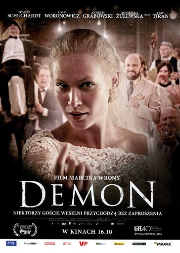 Przód ulotki filmu 'Demon'