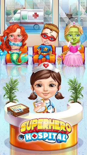 Superhero Hospital Doctor - Crazy Kids Care Clinic 3.0.4 screenshots 1