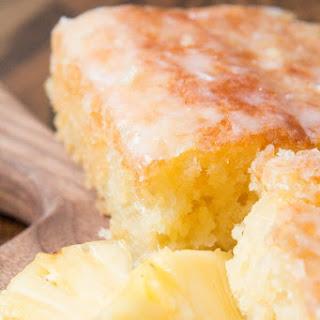 Pineapple Crush Jello Cake.