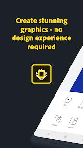 Adobe Spark Post: Graphic design MOD (Unlocked) 1