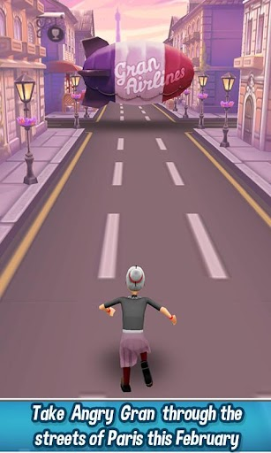 Angry Gran Run - Running Game screenshot for Android