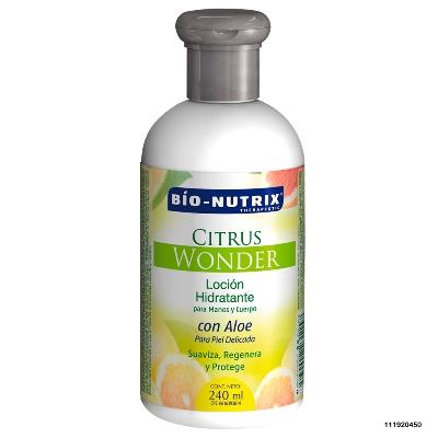 crema corporal bionutrix citrus wonder 240ml