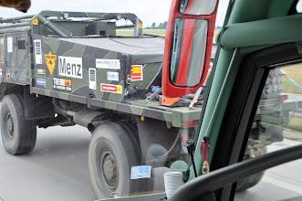Photo: Občas to na dálnici vypadalo jako na Rallye Paříž-Dakar.