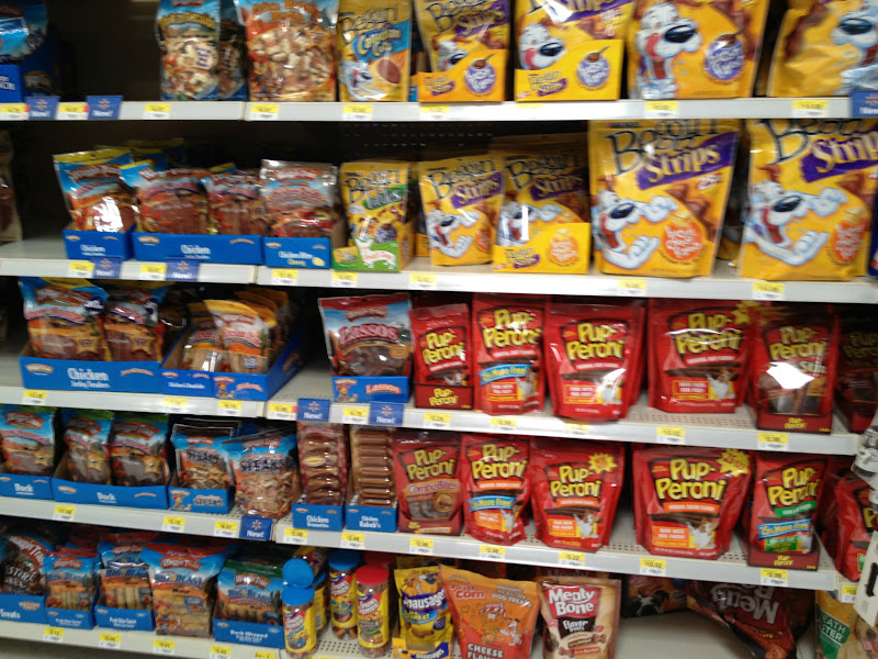Photo: The selection was huge. They had a ton of different brands to choose from and almost an entire aisle devoted to treats.