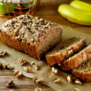 Apple Bread with Cinnamon & Walnuts