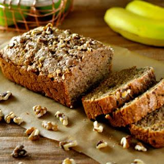 Apple Bread with Cinnamon & Walnuts