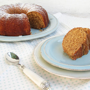 Orange, Cinnamon, and Coconut Bundt Cake