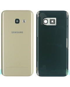 Galaxy A3 2017 Back Cover Gold