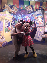 Photo: Me and Minnie again - this time at Epcot