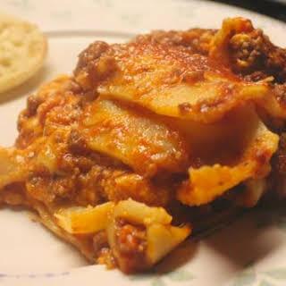 Crockpot Lasagna – a Slow Cooker Freezer Meal.