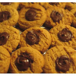 Peanut Butter and Chocolate Cookies.