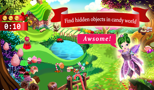 Candy House Hidden Objects