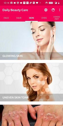 Daily Beauty Care - Skin, Hair, Face, Eyes 2.0.5 screenshots 3