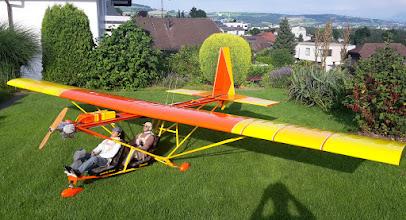 Photo: 1:2  Ultraleicht-Flugzeug   Thomas Burkard   Schweiz