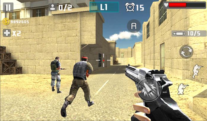 Gun Shot Fire War screenshot
