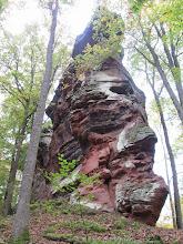 Photo: crête rocheuse du Erbsenfelsen