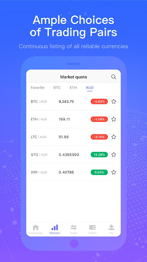 Infinite Exchange - Trade AUD, BTC, ETH & Crypto - screenshot