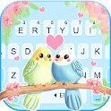 Love Birds Keyboard Background icon