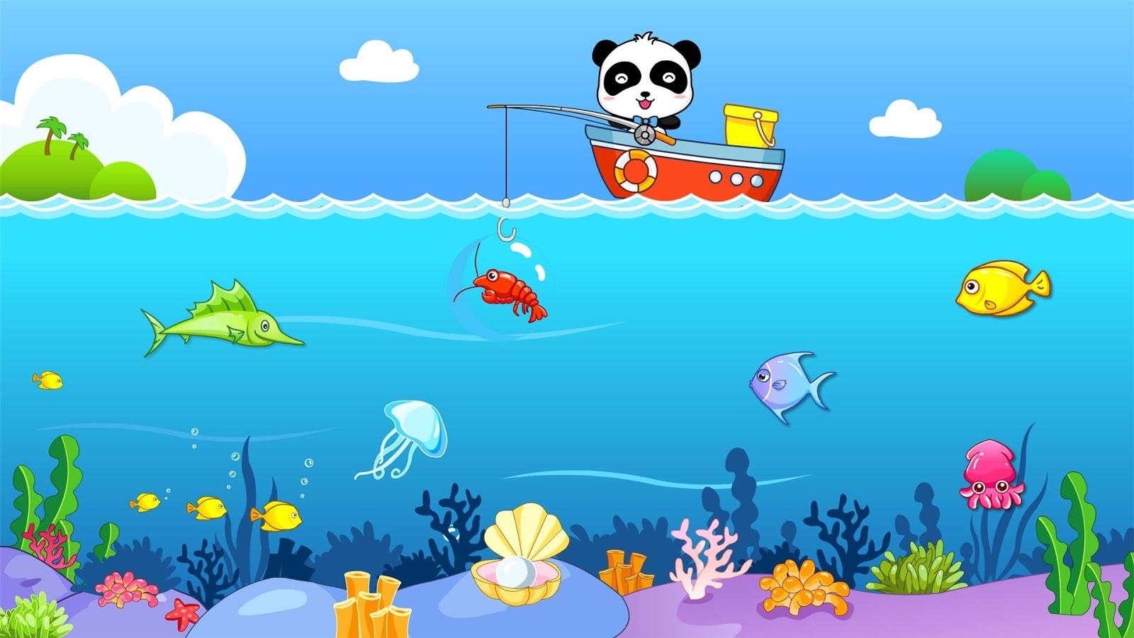 Happy Fishing: game for kids- screenshot