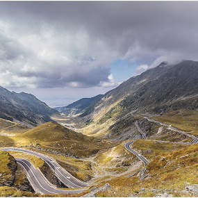 Transfagarasan, Romania. by Dragos Iancu - Landscapes Mountains & Hills ( transfagarasan, mountain, beautiful, romania, landscape )