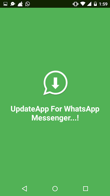 Update for your Whatsapp App - screenshot