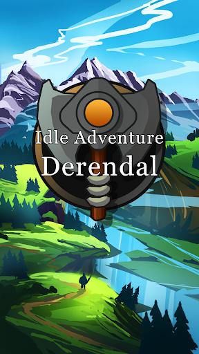 Derendal: IDLE Text RPG Hero Simulator APK MOD screenshots 1