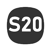 S20 One UI Dark AMOLED - Icon Pack