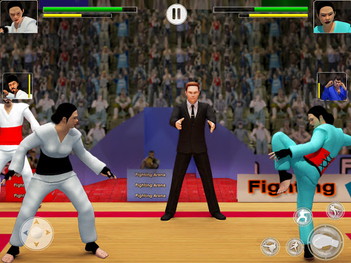 Tag Team Karate Fighting Games: PRO Kung Fu Master 2.1.9 screenshots 11