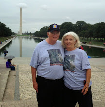 Photo: Jim and Paula McGrath with the Washington Monument in the background