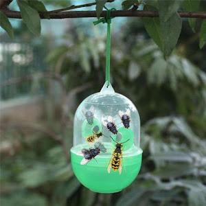 Set 3 x capcana pentru viespi si insecte, Wasp Trap