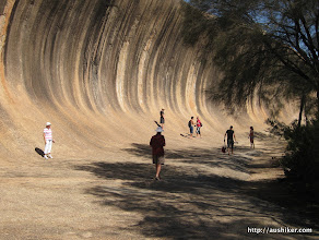 Photo: Wave Rock - Esperance to Perth by Bicycle