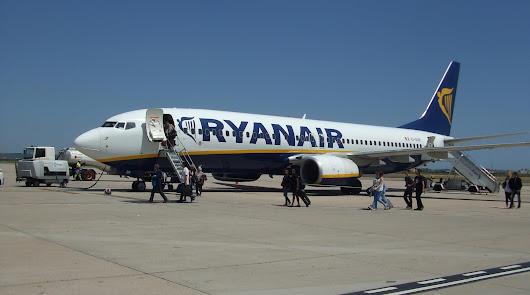 La huelga de Ryanair afecta al vuelo Almería-Bruselas